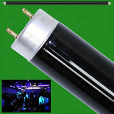 2x 15W T8 UV Ultraviolet Blacklight Tube Strip Light DJ Disco Halloween BLB Lamp