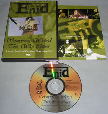 Enid All-Region DVD - Something Wicked This Way Comes: Live at Claret Hall Farm+