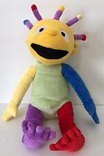 "FAO Schwarz Eebee Plush Doll 18"" Eebee's Adventures Colorful Baby"