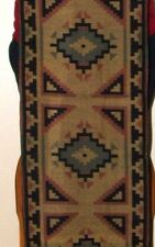 "Table Runner 16x80"" + Fringed Ends Southwestern Native American Design #2"