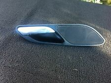 BMW E46 OEM BLACK RIGHT Door Handle TWEETER Cover 323ci 325ci 328ci 330ci M3