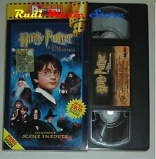 film VHS HARRY POTTER E LA PIETRA FILOSOFALE  CARTONATA PANORAMA (FP1*)  no dvd