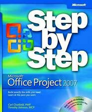 Microsoft  Office Project 2007 Step by Step (Step By Step (Microsoft))-ExLibrary