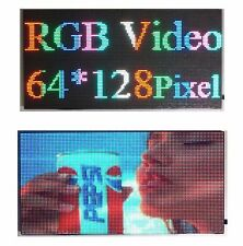 "25""x 12"" Full Color Video P5 HD LED Sign Programmable Scrolling Message Display"