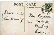Genealogy Postcard - Family History - Bayldon - Barking - Essex   A1138