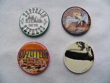 New Lot of 4 Vintage LED ZEPPELIN Casino Poker Chips Swan Song Zep 1 Earls Court