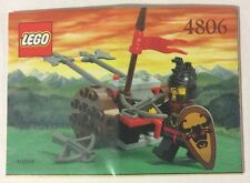 LEGO 4806 Notice de Montage Instruction Booklet 2000 Axe Cart