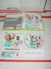 FIFA SOCCER 09 game complete w/ manual for Microsoft XBOX 360