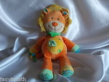 Doudou lion orange, Nicotoy, Blankie/Lovey/Newborn toy