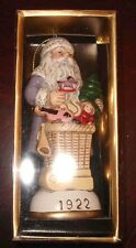 Father Christmas Circa 1922 Memories of Santa Collection Ornament NIB
