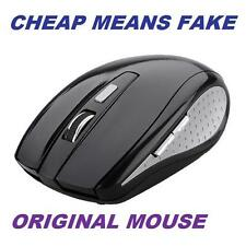 Genuine 2.4GHz Wireless Cordless Optical Scroll Computer PC Mouse USB Dongle