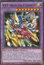 YUGIOH CARD XYZ-DRAGON CANNON MIL1-EN040 1ST EDITION