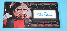 STAR WARS TOPPS RETURN OF THE JEDI 3D WIDEVISION NIEN NUNB AUTOGRAPH CARD
