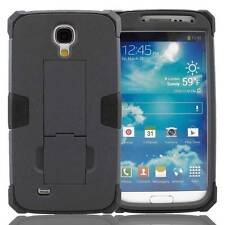 Hybrid Best Combo Dual Layer PC Box Stand Case Cover For Samsung Galaxy S4 S IV