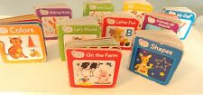 10 Baby Einstein Board Books First Words Alphabet Animals DVD Play-a-Sound Book