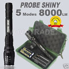 G700 X800 8000LM Zoomable XML T6 LED Tactical Flashlight Torch 18650 Battery LOT