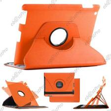 Etui Coque Housse Orange Smart Cover Apple iPad 4 Retina Nouvel iPad3 3 / 2 4G