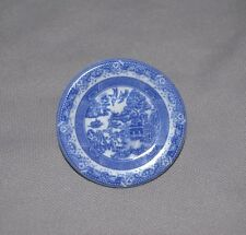 Spode Blue Willow Mini Round Plate Pin  MADE IN ENGLAND