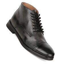 Frank Wright Dawlish Sheffield Men's Black Leather Ankle Boots New UK 9 EURO 43