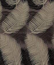 Belgravia Decor Royal Palm Wallpaper 57002  - Tropical Leaf Tree Brown Beige