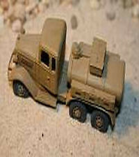 MGM 80-37 1/72 Resin WWII Japanese Isuzu 6X4 Type 94A 1.5t Fuel Truck