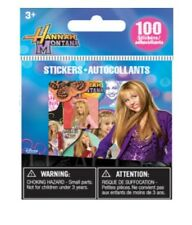 Disney HANNAH MONTANA mini stickers - 100 collection Miley Sirus STICKERS-NEUF