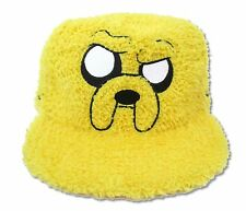 Adventure Time Fur Jake Adjustable Yellow Fuzzy Baseball Hat New Official Cap