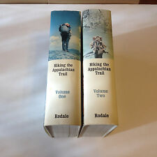 Hiking the Appalachian Trail Two Volumes Hardcovers Dustjackets James R Hare