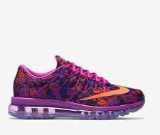 Nike Wmns Air Max 2016 Print Hyper Violet Concord Total Crimson UK 4.5 EU 38 New