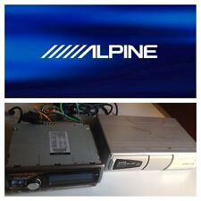 ALPINE Stereo Radio CD MP3 WMA CDA-9855R + Cargador MP3 6 CDs CHA S634