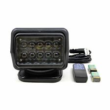 360 Rotate Remote Control 50W LED Searching Emergency Spot Light For Trucks Boat