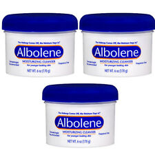 3 Pack Albolene Cleansing Concentrate Moisturizing Cleanser Cream Unscented 6oz