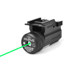 Hunting Green Dot Laser Sight QD 20mm Rail Mount for Pistol Rifle Glock 17 19 22