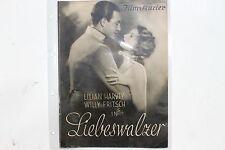 BFK 1350 Filmprogramm Liebeswalzer 1930 mit Lilian Harvey Willy Fritsch KL Diehl