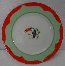 """LYNN CHASE china MONKEY BUSINESS pattern Bread Plate - 6-1/2"""""""