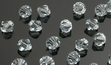 25 Swarovski Crystal Beads # 5301 Lt  Azore 6MM