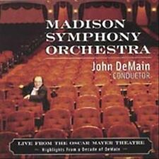 Madison Symphony Orchestra - Live From The Oscar Mayer Theatre [CD New]