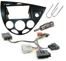 Ford Focus Mk1 98-05 Double Din Stereo Facia Adapter kit and stalk adaptor