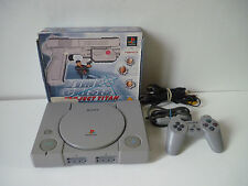 Console Sony Playstion PS1 + Pack Time Crisis Project Titan ( G-con + jeu )