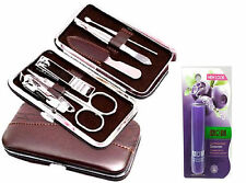 7 -IN-1 MANICURE SET + ADS BLUEBERRIES FLAVOUR LIP CARE COMBO OFFER