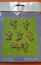 Disney Trading Pins TINKERBELL Mini Various Poses CUTE  Booster Set of 7