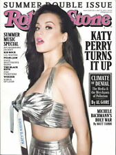 Katy Perry Rolling Stone Jul 2011 Dave Grohl Live Music Al Gore Michele Bachmann