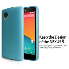2014 NEW Google Nexus 5 LG Frost Matte Back case Cover+ Nexus 5 Screen Protector