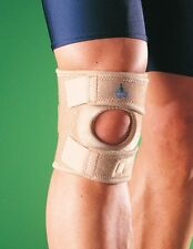 OPPO 1124 Adjustable Short Open Patella Max Knee Support Brace Neoprene Sport