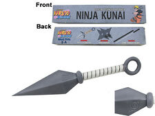 Official licensed Naruto Shippuden FOAM Ninja Shuriken Kunai Anime Cosplay Xmas