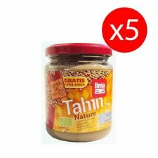 PACK 5 unds TAHIN ECOLOGICO SIN SAL NATURE 225 gr LIMA