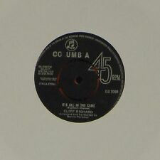 """CLIFF RICHARD 'IT'S ALL IN THE GAME' UK 7"""" SINGLE #2"""