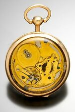 Original Breguet Quarter Hour Repeater  Pocket Watch Later Dial & Display Case