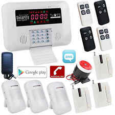 BL Android APP GSM Wireless Wired Home Security Alarm Burglar System Auto Dialer
