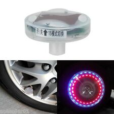 Car Bike Motorcycle Decoration LED Flash Solar Wheel Tire Tyre Valve Cap Light